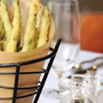 Bacon Fat Fried Asparagus