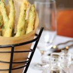 Bacon Fat Fried Asparagus