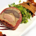 Duck and Poached Pear Terrine
