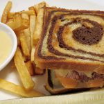 Reuben Sandwich With Truffle Frites